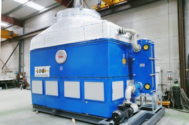 Trabajo de climatización refrigeración industrial